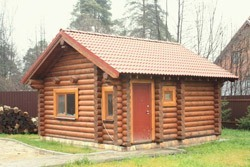 строительство бани в Михайловске